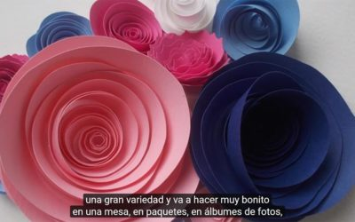 Cómo hacer flores de papel!
