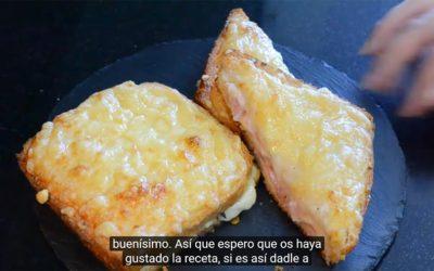 Receta de Sandwich Croque