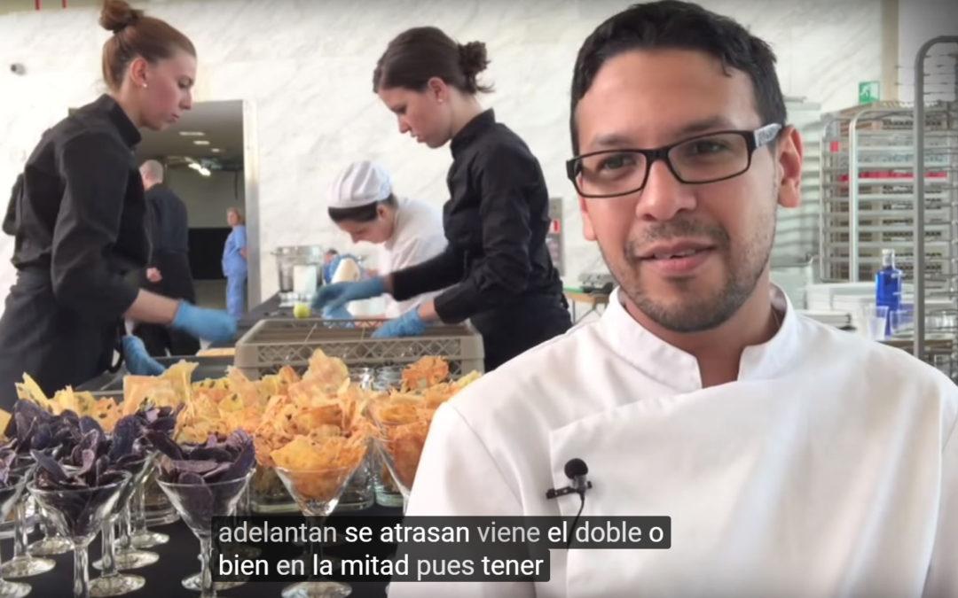 Cómo funciona un catering en Madrid